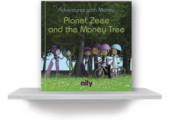 Planet Zeee and the Money Tree book