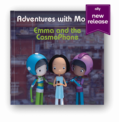The book Emma and the Cosmo Phone, new release