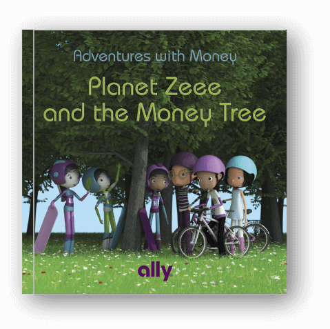 The book Planet Zeee and the Money Tree